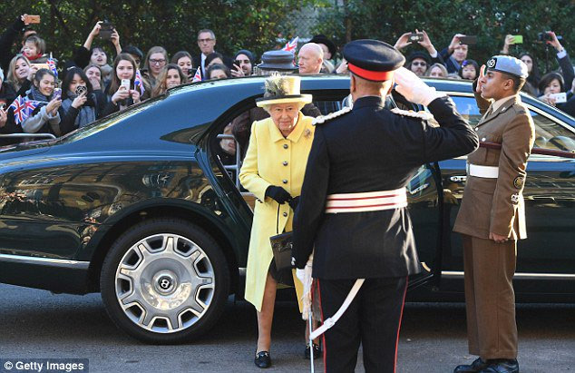 Her Majesty The Queen visited Goodenough College