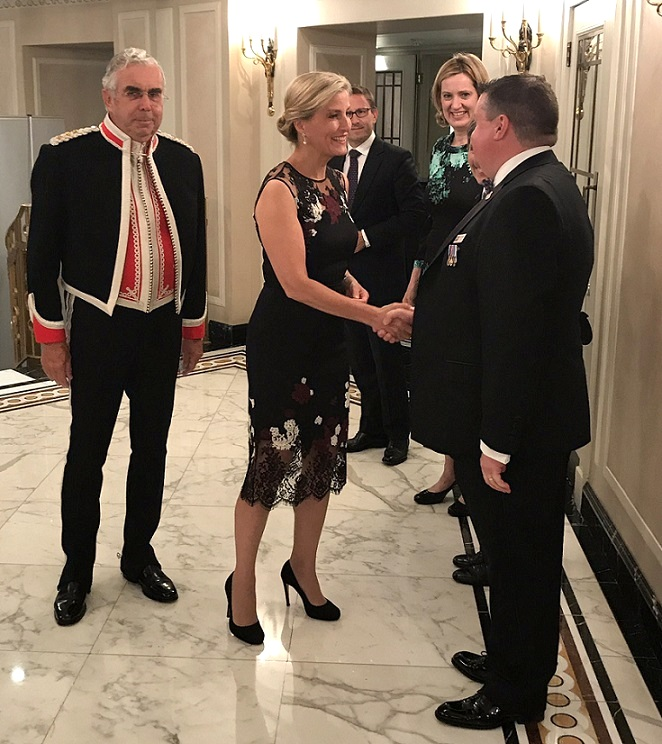 The Countess of Wessex attended the National Police Bravery Awards