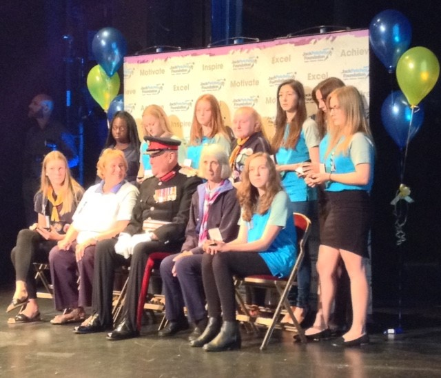 The Jack Petchey Awards for Essex West County Girl Guides hosted at the Queens Theatre Hornchurch in June