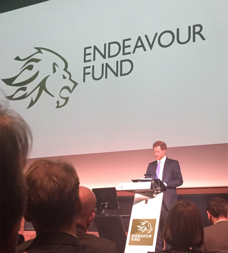 The Duke of Cambridge and Prince Henry of Wales and Prince Harry, yesterday attended the Endeavour Fund Awards Ceremony