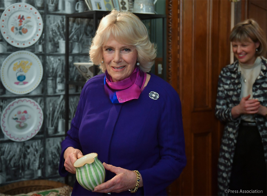 "The Duchess of Cornwall, this morning visited the ""Sussex Modernism: Retreat and Rebellion"" Exhibition"
