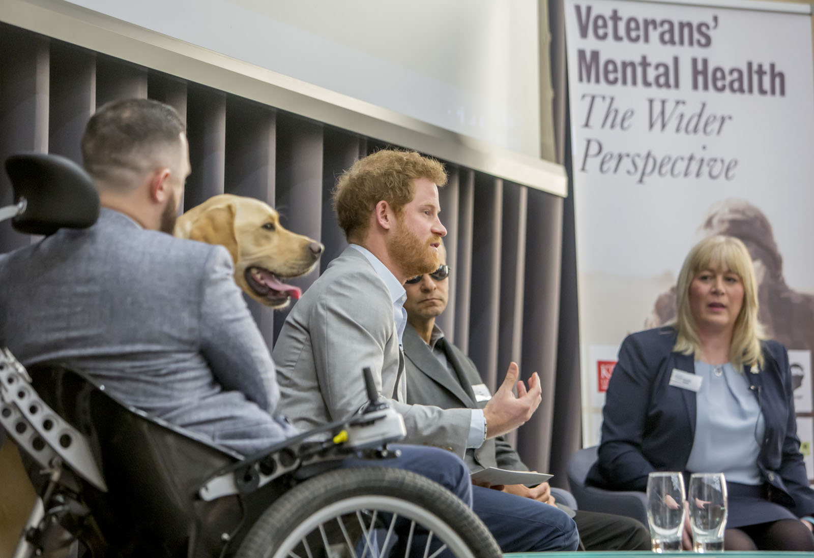 Prince Henry of Wales attended a Military Mental Health Conference