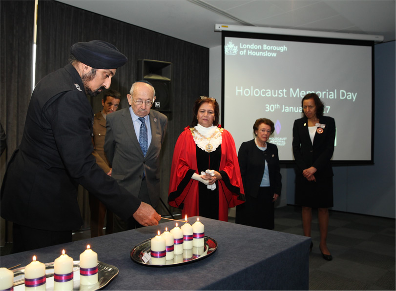 Holocaust Memorial Day remembrance 30th January 2017