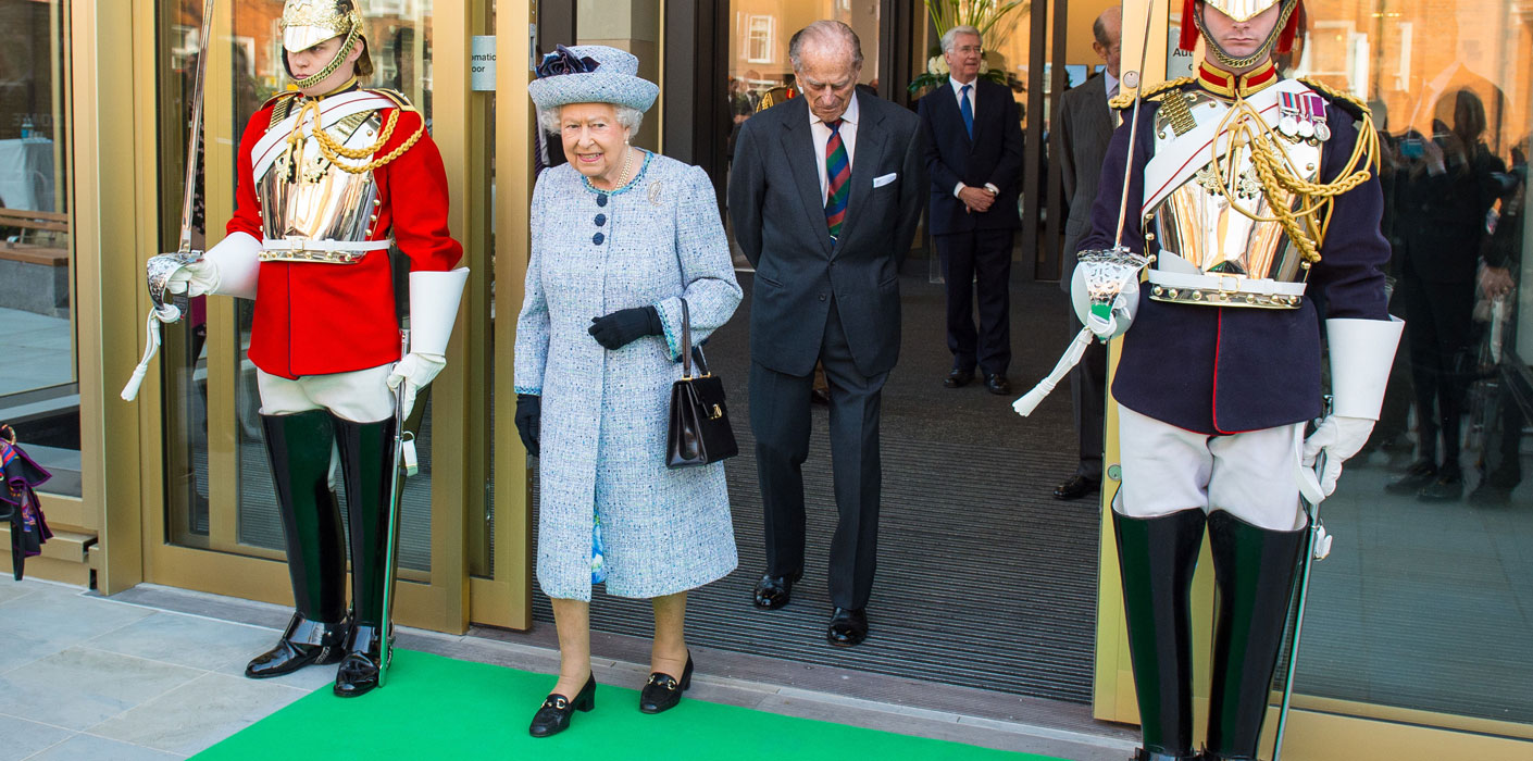 The Queen and The Duke of Edinburgh this morning visited the National Army Museum