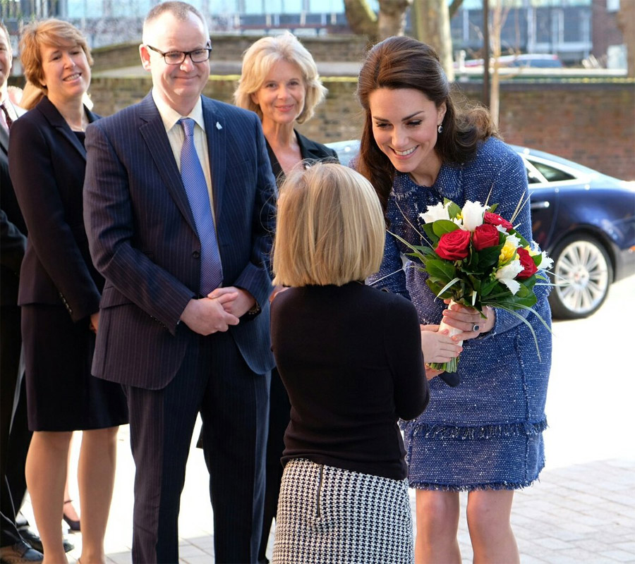 The Duchess of Cambridge this morning officially opened Ronald McDonald House Evelina London