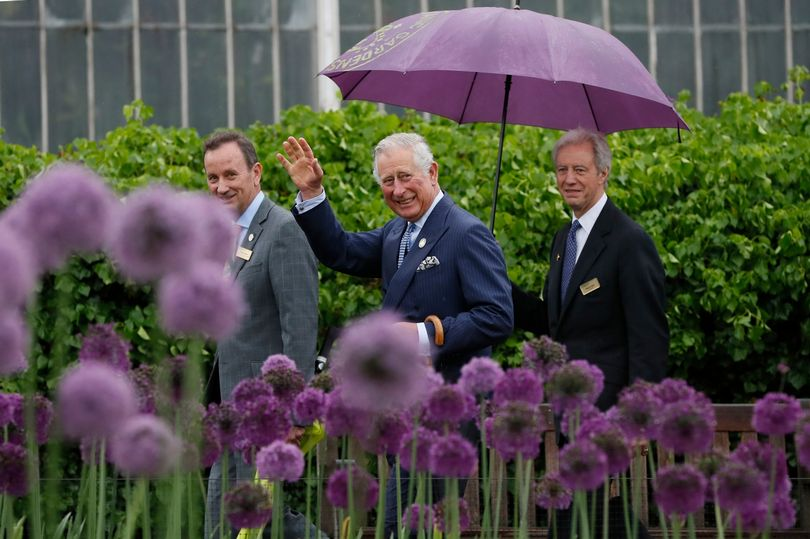 The Prince of Wales visited the Royal Botanic Gardens, Kew.