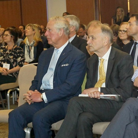 The Prince of Wales attended the National Conference on Social Prescribing