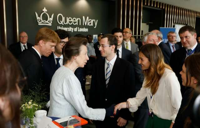 The Princess Royal opened the Graduate Centre