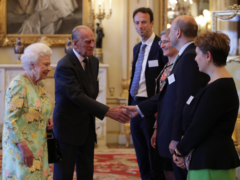 The Queen and The Duke of Edinburgh gave a Reception for Winners of The Queen's Awards for Enterprise
