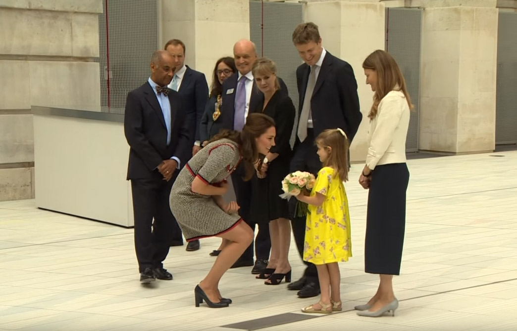 The Duchess of Cambridge officially opened the Exhibition Road Quarter