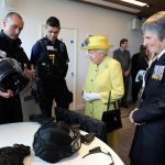 The Queen opened the New Scotland Yard new Headquarters