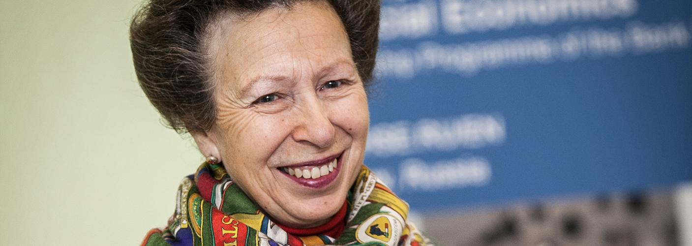 The Princess Royal attends the QAE Winners Dinner