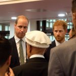 Prince Henry of Wales visited volunteers involved in the Red Cross response to the Grenfell Tower fire