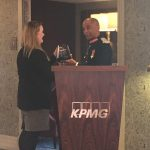 Lord-Lieutenant presents QAE to KPMG