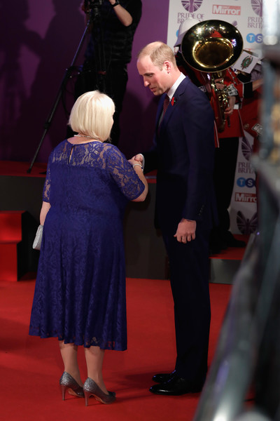 The Duke of Cambridge attends the Pride of Britain Awards