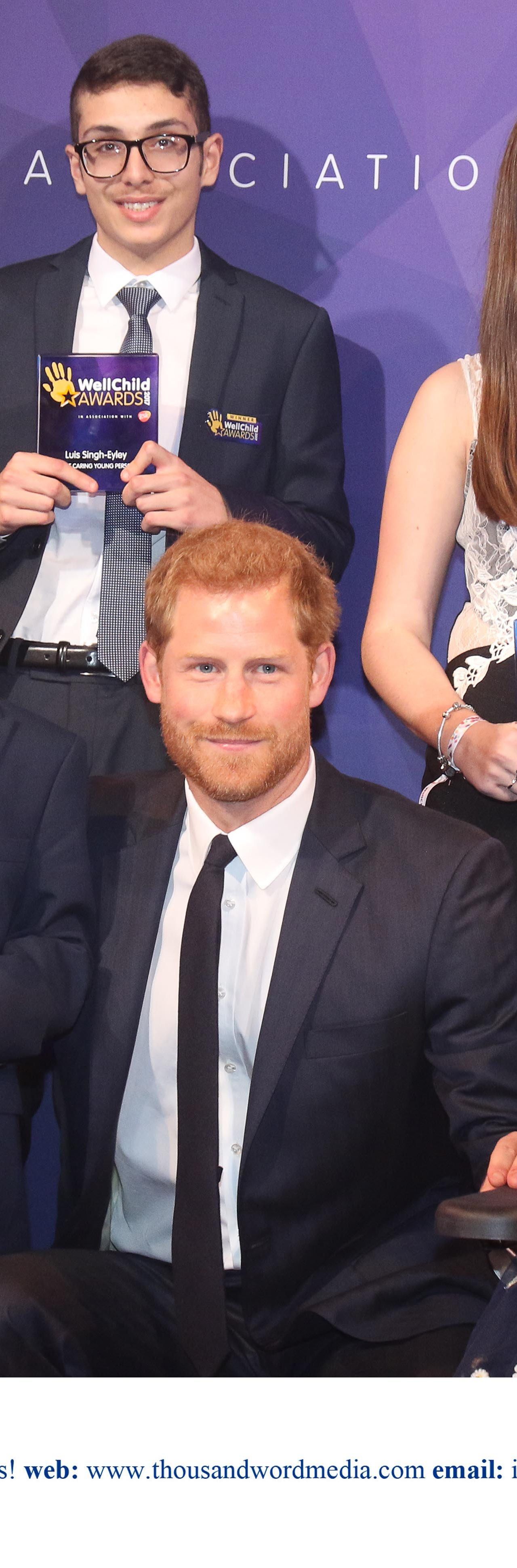 Prince Henry of Wales attends a Reception and Awards Ceremony