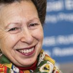 The Princess Royal attends a Reception at Gibraltar House