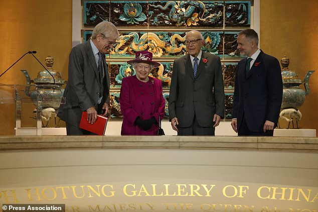 The Queen visits the British Museum