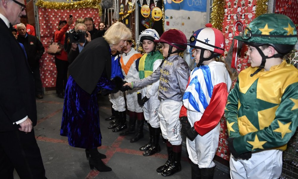 The Duchess of Cornwall visits the London International Horse Show