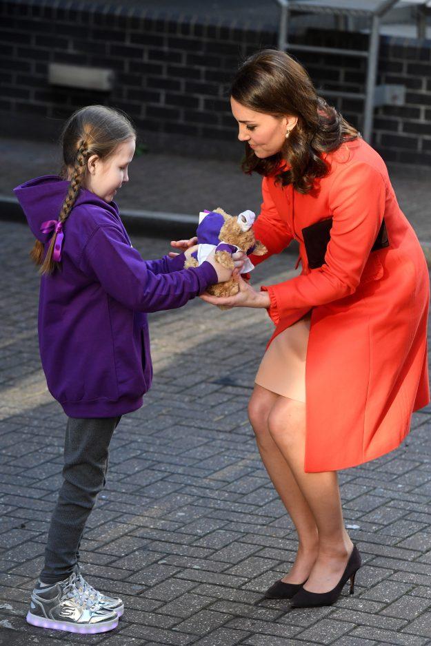 The Duchess of Cambridge visits Great Ormond Street