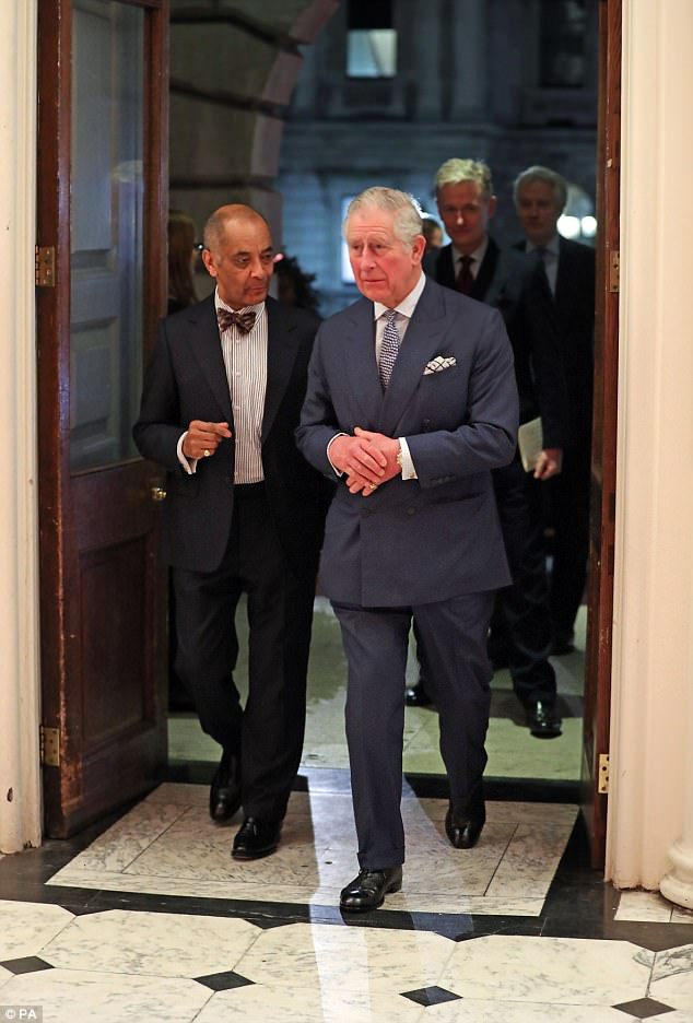 The Prince of Wales attends 'Charles I: King and Collector' reception