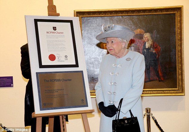 Her Majesty the Queen visits the Royal College of Physicians
