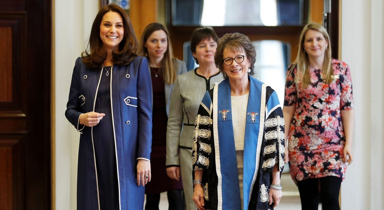 The Duchess of Cambridge visits Royal College of Obstetricians and Gynaecologists