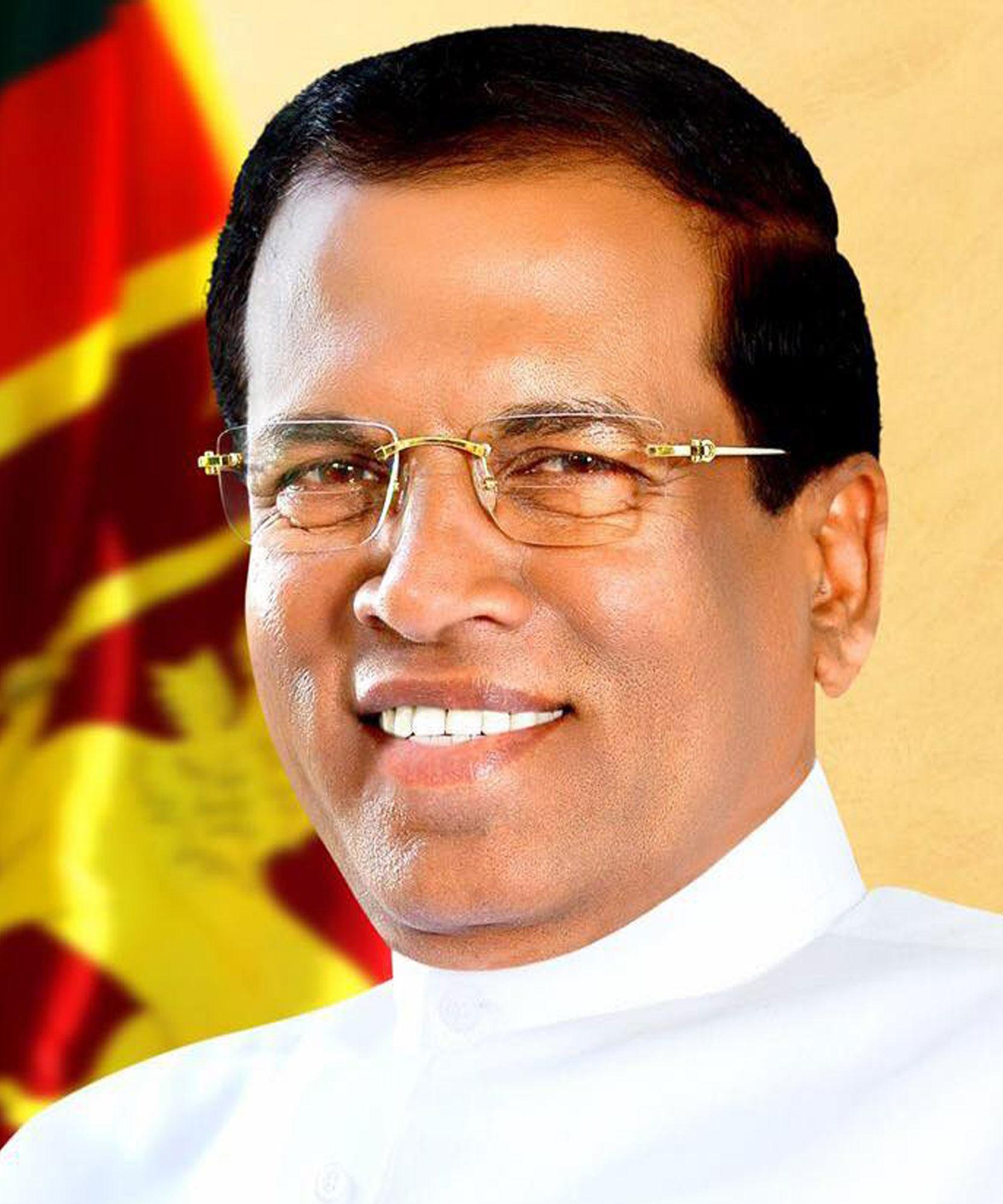 Mr Bruce Houlder welcomed the President of the Democratic Socialist Republic of Sri Lanka