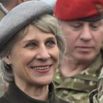 The Duchess of Gloucester attends the National Crimebeat Annual Awards Ceremony