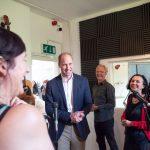 The Duke of Cambridge opened the redeveloped London Bridge Railway Station