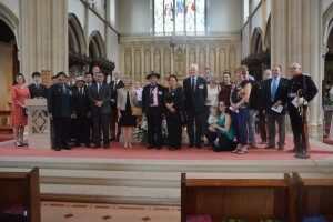 20190627 - Martin Russell to 75th Anniversary of action in Moguang Burma