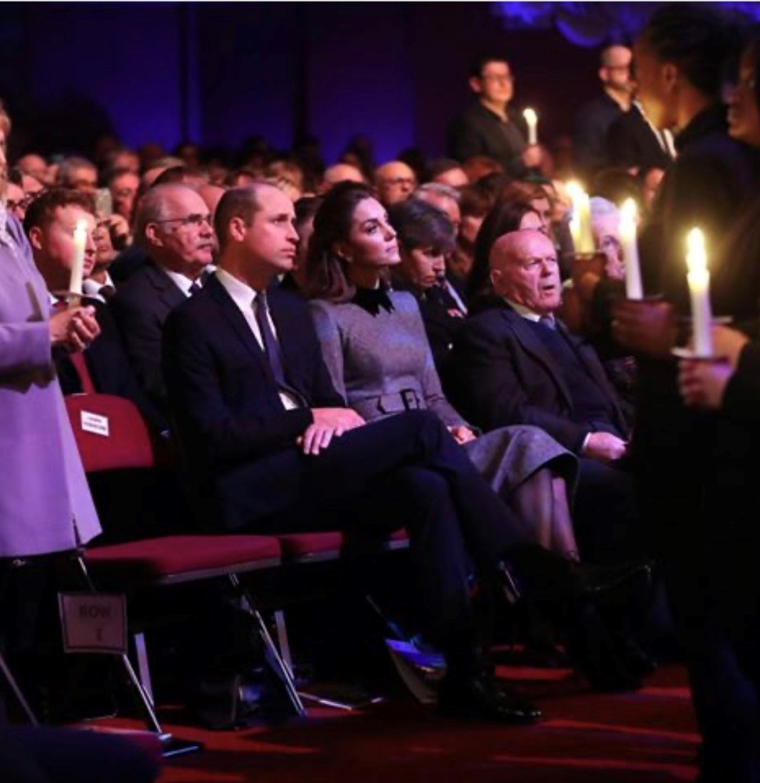 The Duke and Duchess of Cambridge attend Holocaust Memorial Day