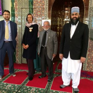 Visit to Hounslow Jamia Mosque Oct 2017