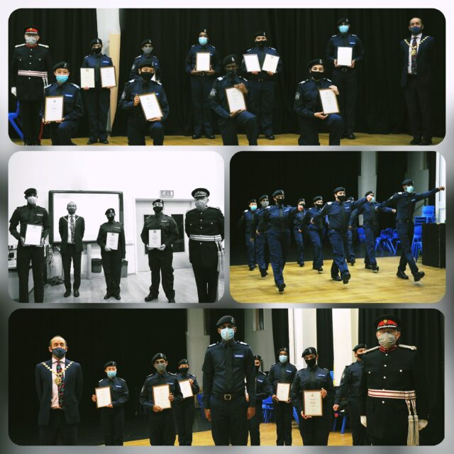 Westminster Police Cadets DL and DofE Awards Oct 2020