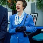 The Princess Royal attends a Reception at the Farmers Club