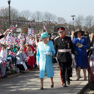 Her Majesty's Diamond Jubilee Regional Tour – North London, 29th March 2012