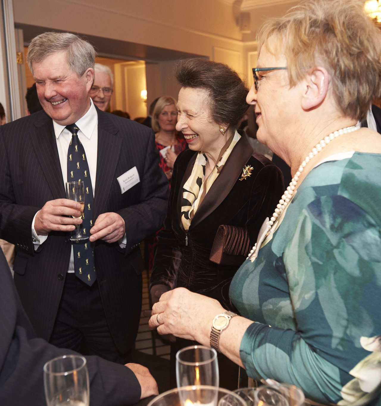 The Princess Royal, this evening opened the renovated Farmers Club premises at 3 Whitehall Court