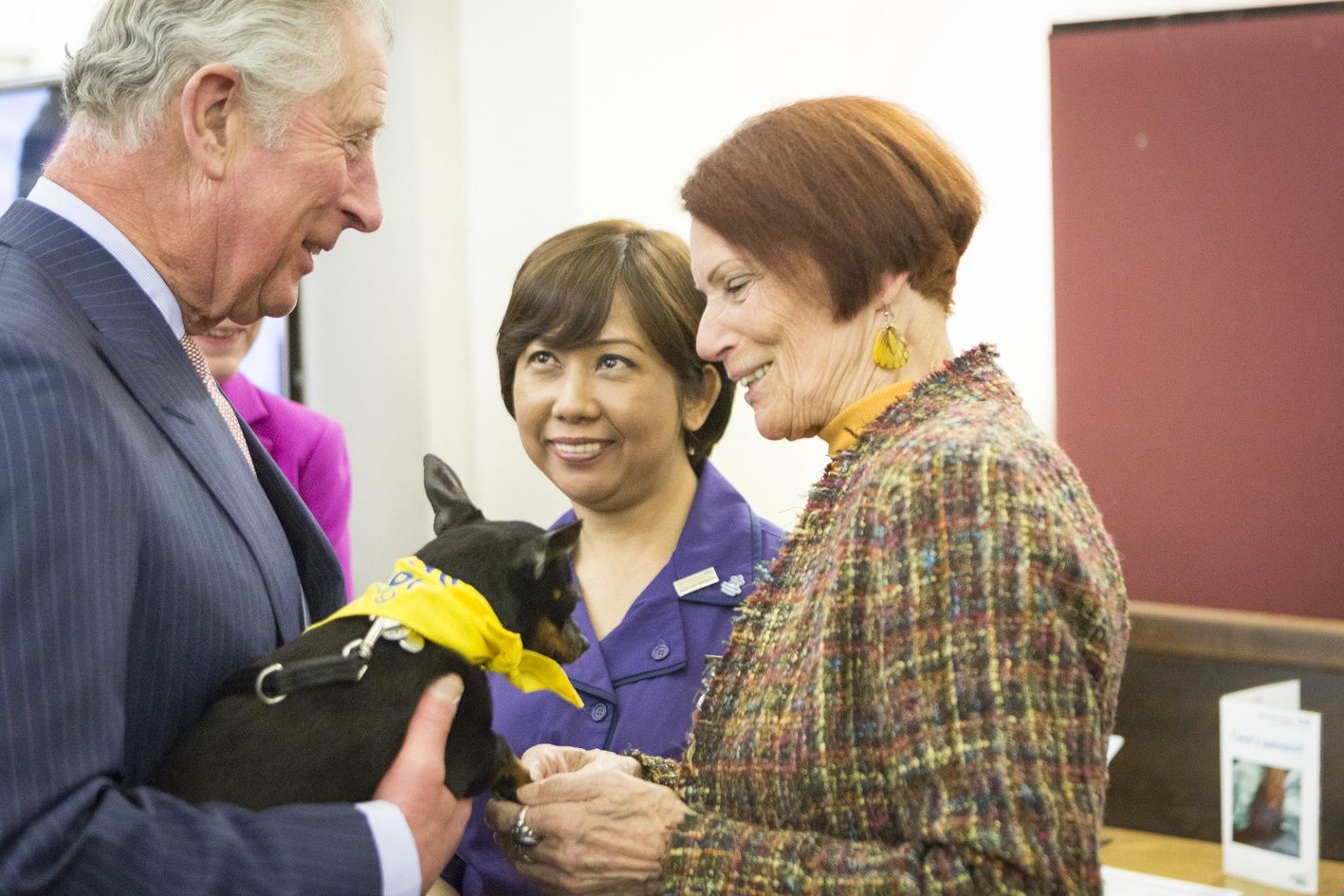 The Prince of Wales attended a Reception to mark the Society's Seventieth Anniversary