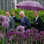 The Duke of Cambridge visited the Royal Marsden Hospital