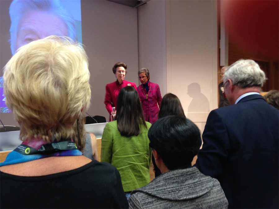 The Princess Royal launched the Medical Women's Federation Centenary celebration
