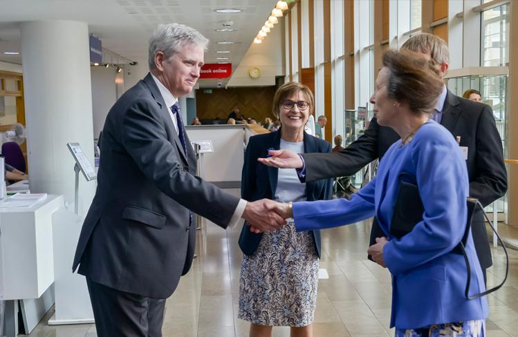 Her Royal Highness attended a Celebration for the Festival of Learning at City Literary Institute