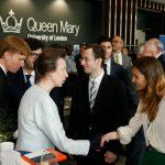The Princess Royal, opened the Postal Museum, Calthorpe House