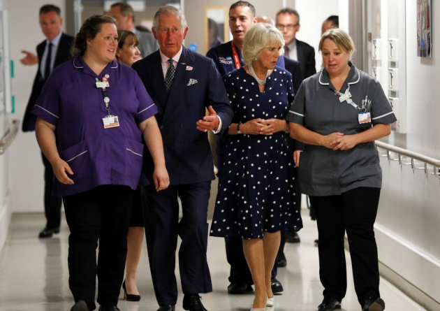 The Prince of Wales and The Duchess of Cornwall met patients and staff affected by the London Bridge terrorist attack