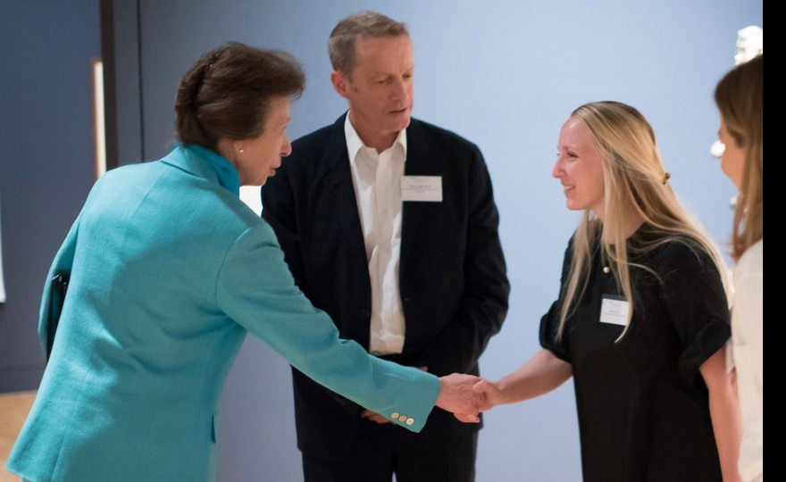 "The Princess Royal attended the launch of the ""Founders' Circle"""