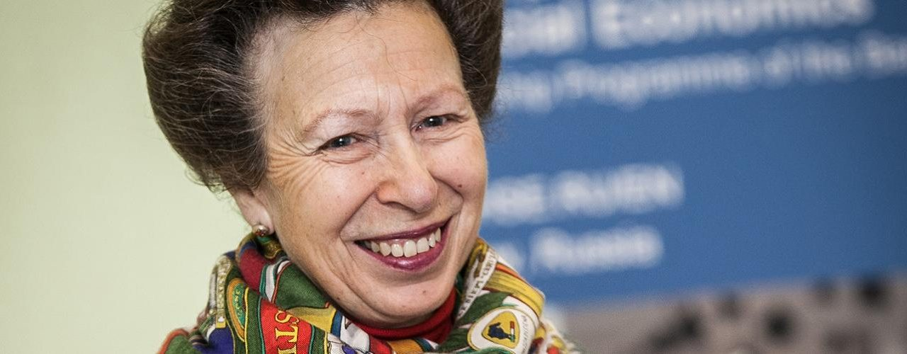 The Princess Royal attends a reception