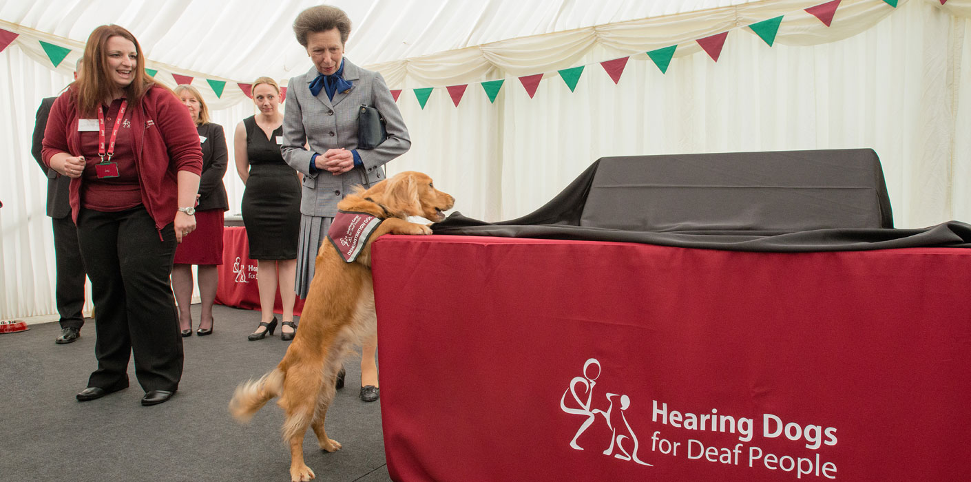The Princess Royal attends the Hearing Dogs for Deaf People Awards.