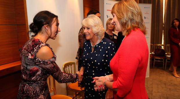 The Duchess of Cornwall attended the Women of the Year Lunch and Awards