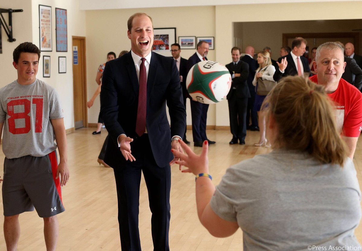 The Duke and Duchess of Cambridge and Prince Harry attend a Graduation Event for Coach Core