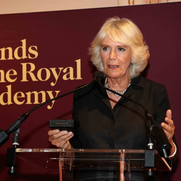 The Duchess of Cornwall attends a Reception to mark the Royal Academy of Arts Fortieth Anniversary