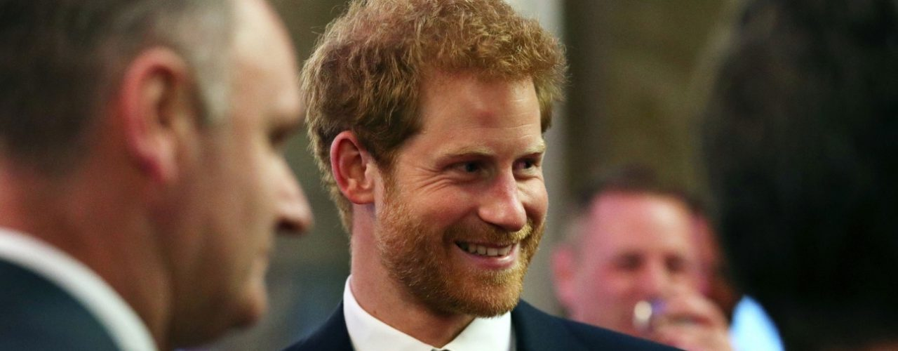 Prince Henry of Wales attends a Reception for Walking with the Wounded
